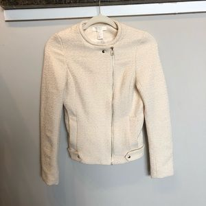 H&M Cream Jacket (Blazer)